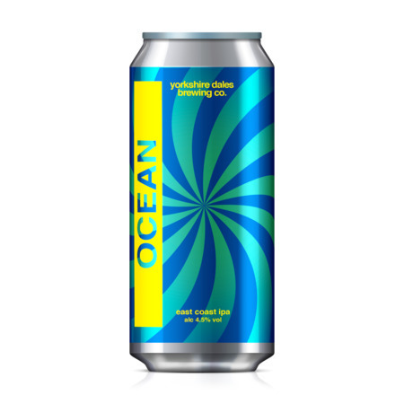a can of Ocean, Yorkshire Dales beer