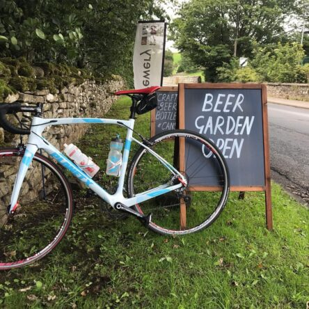 Beer and bikes – cycling the Swale Trail