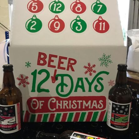 Festive beer cases are now available for December delivery!