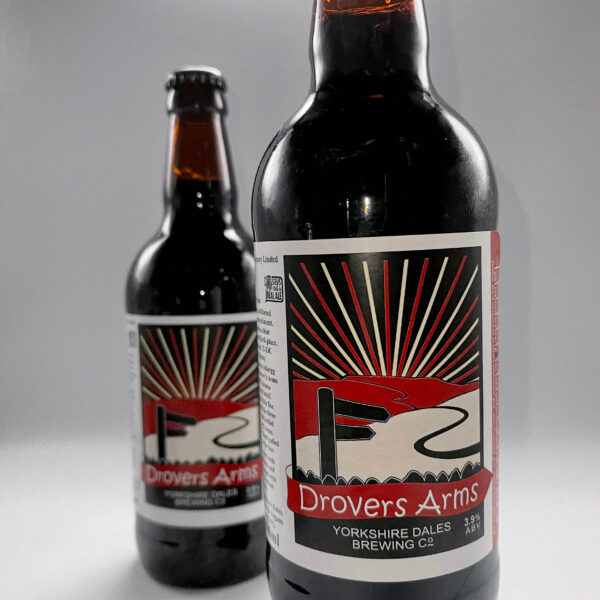 a bottle of Drovers Arms from Yorkshire Dales Brewery