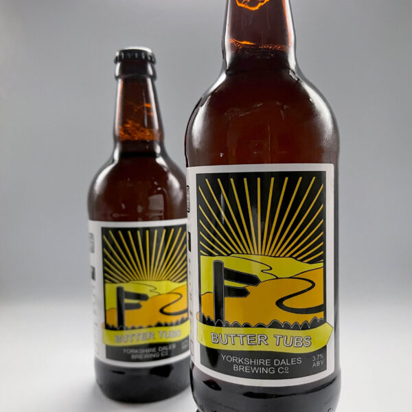 a bottle of Butter Tubs beer from Yorkshire Dales Brewery