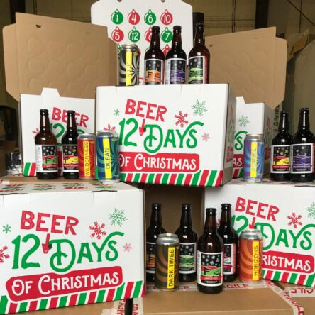 12 Craft Beers of Christmas case – 6 x 500ml bottles & 6 x 440ml cans