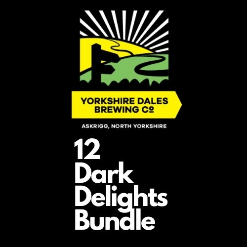 image for 12 Dark delights beer bundle from Yorkshire Dales Brewery